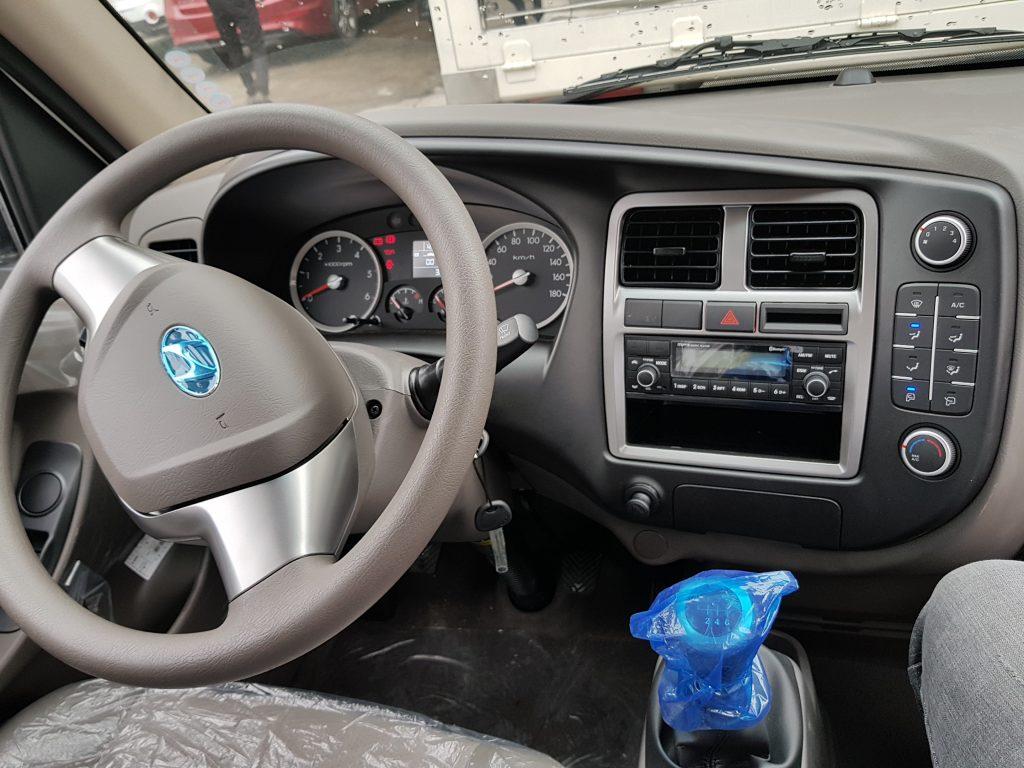nội thất xe tải hyundai new porter 150 -1.5 tấn- Nội thất xe tải thành công 1.5 tấn